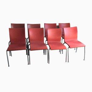 Beistellstühle von Martin Ballendat für Wiesner Hager, 1999, 8er Set