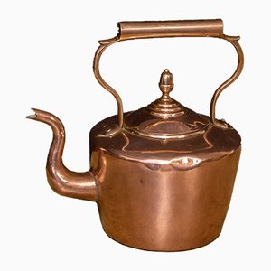 Antique Victorian Copper Kettle