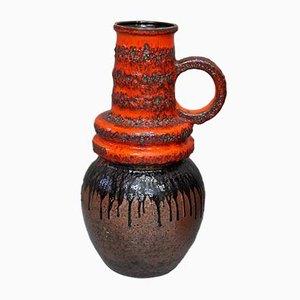 Vase de Sol Fat Lava de Scheurich, années 70