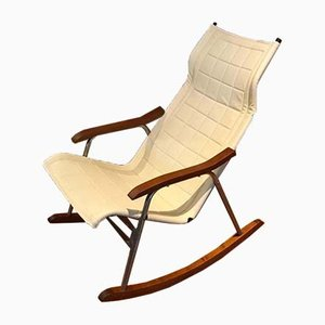 Mid-Century Japanese Rocking Chair by Takeshi Nii