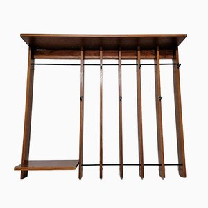 Vintage German Teak Coat Rack from Richard Irrgang