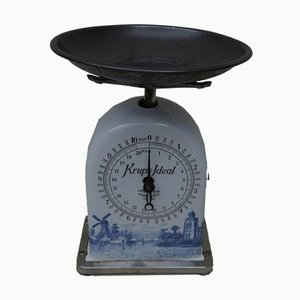 Antique Ceramic Kitchen Scales from Krups