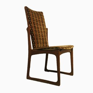 Mid-Century Danish Teak Dining Chairs, Set of 4