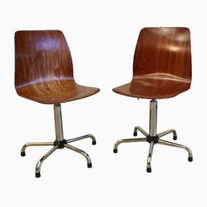 Swivel Chairs from Pagholz Flötotto, 1960s, Set of 2