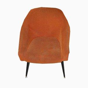 Mid-Century Black Metal Lounge Chairs from VEB Sitzmöbelwerke Waldheim, 1960s, Set of 2