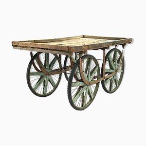 Chariot en Bois, années 40