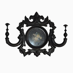 Antique Baroque Style Austrian Coat Rack, 1900s