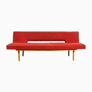 Sofá cama de Miroslav Navratil para Cesky Nabytek, años 60