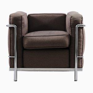 Vintage Modell LC2 Sessel von Le Corbusier für Cassina, 1970er