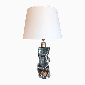 Lampe de Bureau par Olle Alberius pour Orrefors, années 60