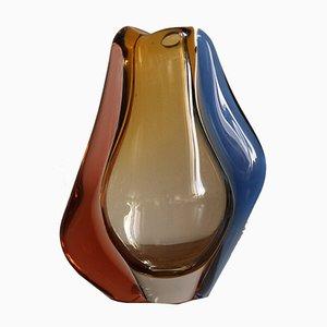 Vase by Hana Machovska for Mstisov Glassworks, 1950s