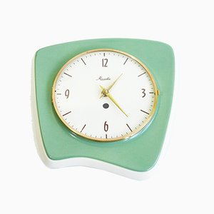 Mid-Century Wall Clock from Mauthe