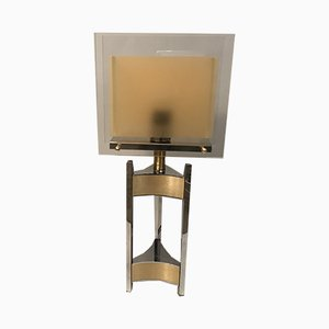 Lámpara de mesa de Gaetano Sciolari para Sciolari, años 70