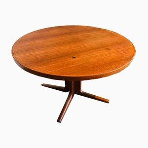 Mesa de comedor escandinava de teca, años 60