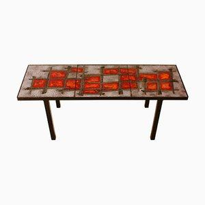 Table Basse en Céramique par Robert & Jean Cloutier pour Robert & Jean Cloutier, années 60