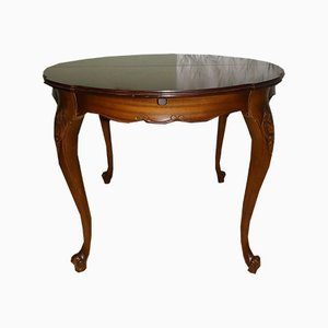Mid-Century Round Chippendale Dining Table from Quadriga