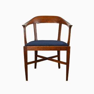 Schwedischer Art Déco Armlehnstuhl aus Eiche, 1920er
