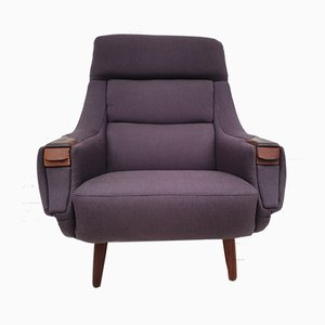 Danish Rosewood Armchair by H. W. Klein for Bramin, 1970s