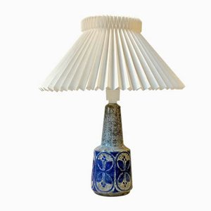 Lampe de Bureau en Grès par Marianne Starck pour Michael Andersen & Søn, Danemark, 1970s
