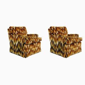 Vintage Zig Zag Club Chairs from Bielefelder Werkstätten, Set of 2