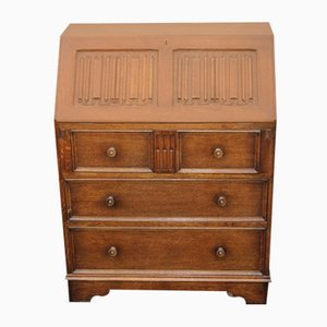 Oak Secretaire, 1940s