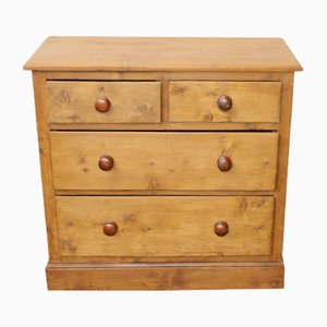 Antique Pine Chest of Drawers, 1900s