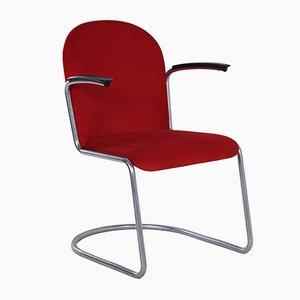 413-R Armlehnstuhl von Willem Hendrik Gispen für Gispen, 1950er