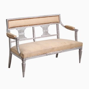 19th Century Gustavian Style Bench
