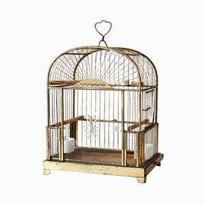 Jaula para pájaros antigua pequeña