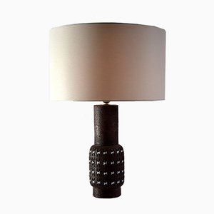 Mid-Century Ceramic Table Lamp by Aldo Londi for Bitossi, 1960s