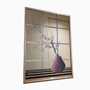 Miroirs Violet, années 80, Set de 2