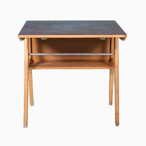 Kleiner Schreibtisch aus Holz, 1950er