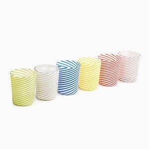 Bicchieri Twist di LPWK, set di 6