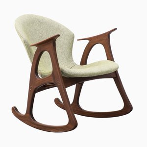 Danish Rocking Chair by Aage Christiansen for Erhardsen & Andersen, 1960s
