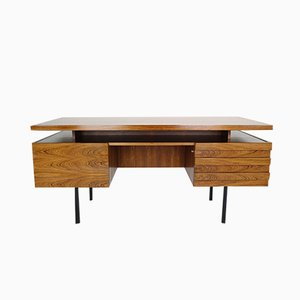 Mid-Century Rosewood Desk by Leo Bub for Wertmöbel, 1960s