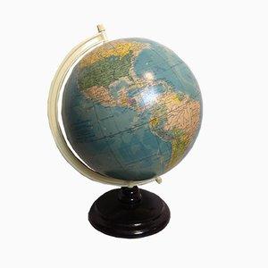 Globe Terrestre Vintage par Raths Leipzig, Allemagne, années 50