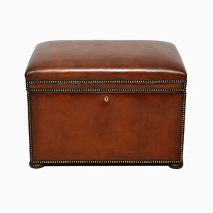 Leather Trunk, 1920s