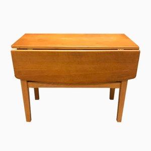 Table Basse en Chêne par Henning Kjærnulf, années 60