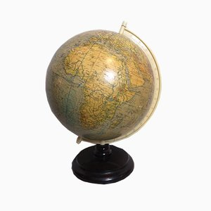Vintage German Globe by Raths Leipzig, 1950s