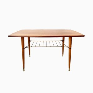 Swedish Teak Coffee Table from Alberts Tibro, 1960s