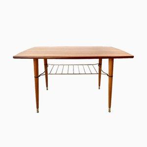 Table Basse en Teck d'Alberts Tibro, Suède, années 60