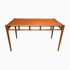 Teak and Beech Coffee Table by William Watting, 1960s