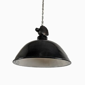 German Factory Ceiling Lamp from LBD VEB Leuchtenbau Dresden, 1950s
