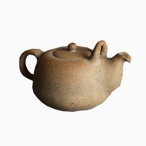 Dänischer Teekessel von Nils Kähler für Kähler Keramik, 1940er