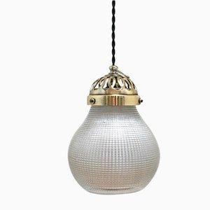 Deckenlampe von Holophane, 1940er