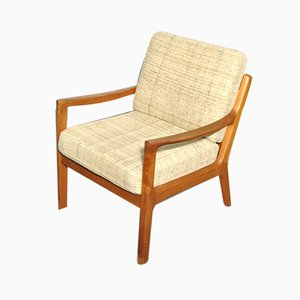Mid-Century Teak Senator Armchair by Ole Wanscher for Cado, 1960s