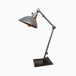 Deutsche Bauhaus Tischlampe von Curt Fischer für Midgard / Industriewerke Auma, 1950er