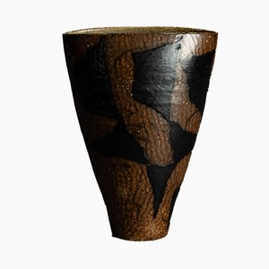 Vase par Anne Stougaard et Peter Stougaard, Danemark, années 60