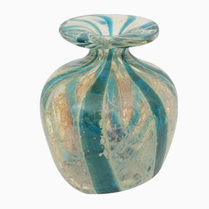 Mid-Century Glass Vase from Mdina