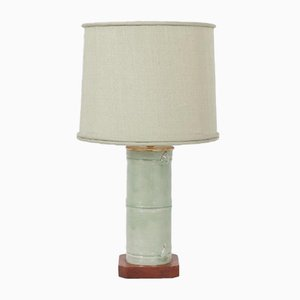 American Faux Bamboo Table Lamp, 1970s
